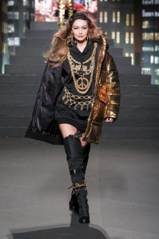 Gigi Hadid. Fuente: H&M.