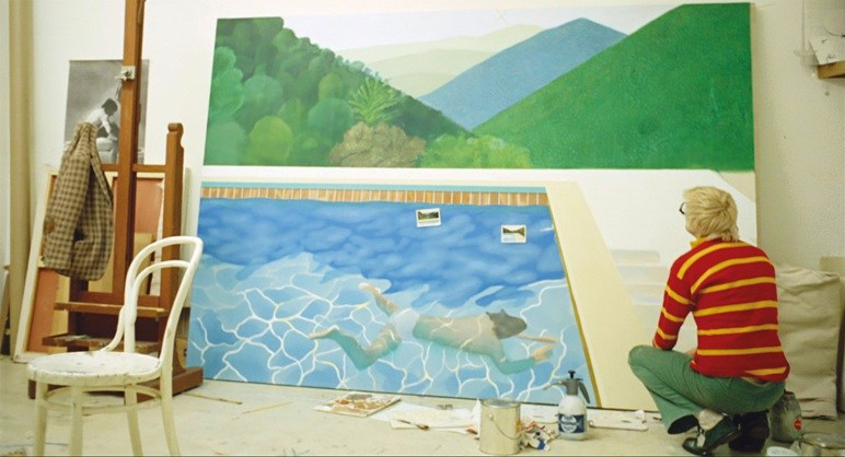 hockney-in-studio