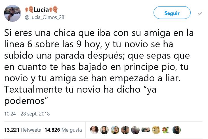 Tweet chica
