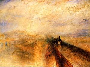 Lluvia, vapor y velocidad, J.M.W. Turner