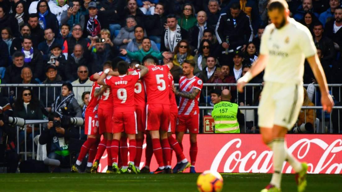 Celebración del Girona