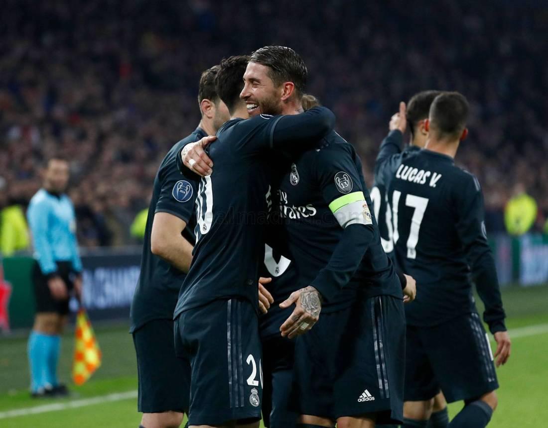 Celebración del Madrid