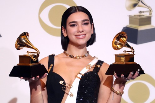 61st Annual Grammy Awards, Press Room, Los Angeles, USA - 10 Feb 2019