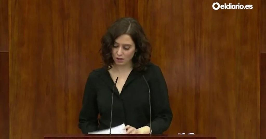 Muy fuerte: Isabel Díaz Ayuso defendiendo que los niños coman ...